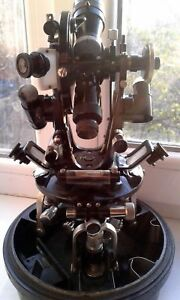 Theodolite Mine Surveying Mountain Mgt 30 The Ussr 1958 Year
