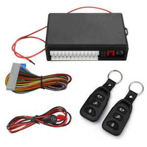 New Universal Car Auto Keyless Entry System Vehicle Remote Central Kit Door Lock