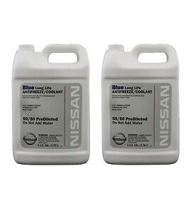 New Genuine Blue Long Life Antifreeze coolant 2 Gallons For Nissan Altima Juke