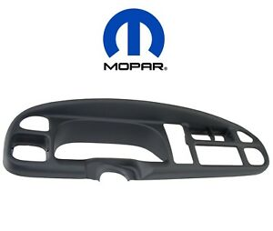 For Dodge Ram 1500 2500 3500 Instrument Panel Dash Face Surround Bezel Oem Mopar