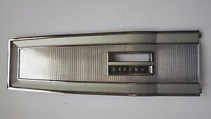 66 67 68 Coronet Gtx Charger Road Runner Automatic Console Top Plate new
