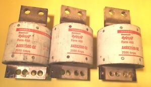 A4bx2500 2500a Gould Current Limiting Fuse Kit Of 3