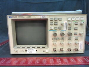 Agilent Hp Keysight 54601a Oscilloscope 100 Mhz 4 channel Serial Number 3106ag
