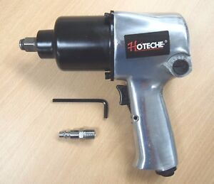 1 2 Twin Hammer Heavy Duty Air Impact Wrench Max Torque 750ft Lb