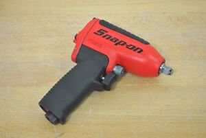 Snap On Tools Mg325 3 8 Drive Red Super Duty Magnesium Impact Wrench