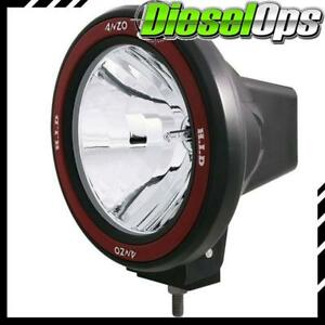 Anzo Usa Universal 7 Round Hid Off Road Light W Removable Bezel