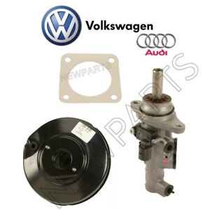 For Volkswagen Jetta 2005 2010 Brake Booster W Gasket Master Cylinder Kit