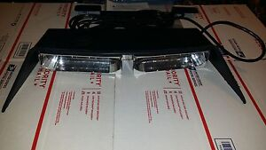 New Federal Signal Solaris Dual Dash Deck Super Led Light ships Same Day