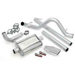 Banks Power Monster Exhaust Chrome For Jeep Wrangler Unlimited 3 8l 4dr 07 11