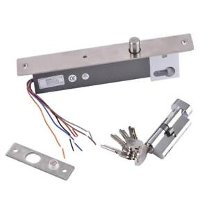 Fail Safe No Mode Electric Bolt Door Lock For Household Warehouse Factory