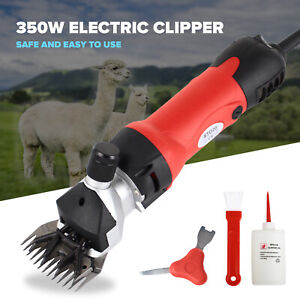 350w Electric Farm Supplies Sheep Goat Shears Animal Shearing Grooming Clipper