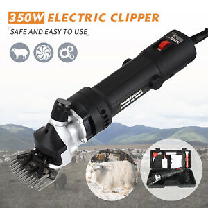 Electric Farm Supplies Sheep Goat Shears Animal Shearing Grooming Clipper Black