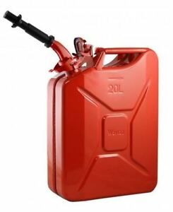 New Nato By Wavian Steel Jerry Can Red With Nozzle The Real And Only One
