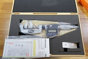 Mitutoyo Metric Lcd Digital Electronic Caliper Type Outside Micrometer 0 25mm