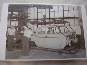 1959 60 Studebaker Assembly Line Body Drop 11 X 17 Photo Picture