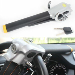 Car Steering Wheel Lock Anti Theft Baseball Lock With 2 Keys Car Truck Security