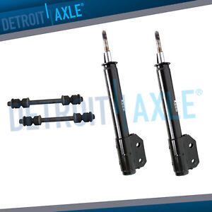 Front Shocks Bare Struts For 1994 2003 2004 Ford Mustang V6 Sway Bar Links