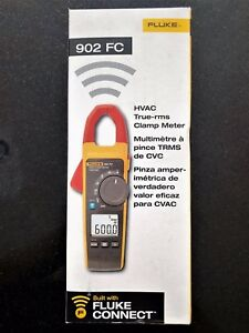 Fluke 902 Fc Hvac True rms Clamp Meter new