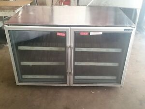 Silver King Under Counter Freezer Glass Door Skf48g rare Only 1 On Ebay