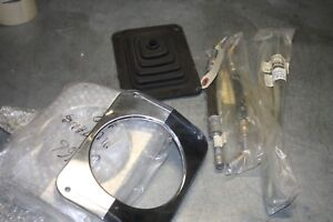 1965 66 Mustang Grab Bag New Hoses Shift Boot And Clutch Rod Billet Tail Lites