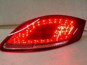 Porsche Boxster 987 Cayman Red Smoke Led Tail Lights 2005 To 2008