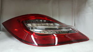 Porsche Boxster 987 Cayman Red Clear 2nd Gen 981 Style Led Tail Lights