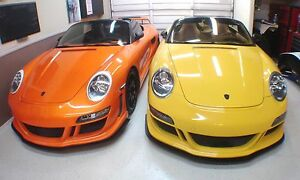 Porsche 986 Boxster 996 To 997 Update Facelift With Gto Front Bumper