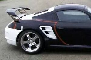 Porsche 987 Boxster Cayman To 997 Turbo Side Vents Update New
