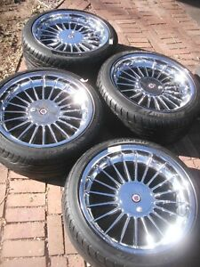 Rare Authentic Oem Bmw 20 E38 B12 750li Alpina Softline Wheels W Falken Tires