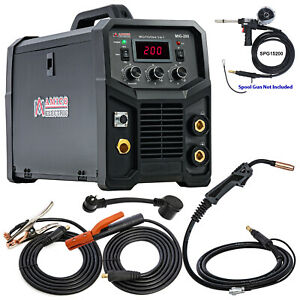 Tig 205 200 Amp Hf start Pro Tig Stick Arc Dc Inverter Welder 115 230v Welding