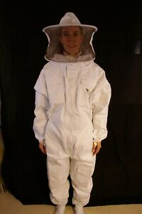 Professional Beekeeping Suit With Round Veil 2xsmall