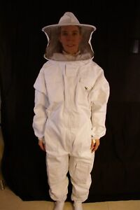 Professional Beekeeping Suit With Round Veil Xlarge