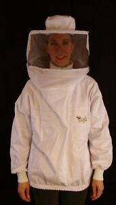 Professional Beekeeping Jacket With Round Veil Small
