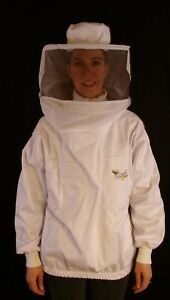 Professional Beekeeping Jacket With Round Veil Large
