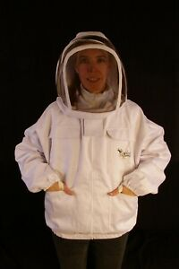 Professional Beekeepers Jacket With Fencing Veil 2xsmall