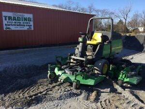 2010 John Deere 1600 4x4 Diesel Wide Area Mower