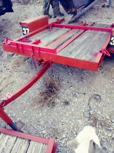 Ditchwitch Tilt Trailer 78 In Long And 54 In Wide
