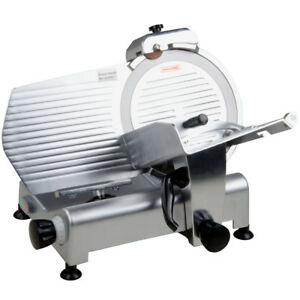 New Avantco Sl312 12 Manual Gravity Feed Meat Slicer 1 3 Hp