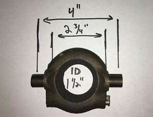 Vintage Carbon Clutch Throw Out Bearing 1920s 1940s Gm Pontiac Olds Gmc Chevy
