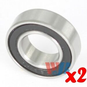 2pc Miniature Ball Bearing Wjb 688 2rsa5 With 2 Rubber Seals Abec 5