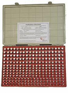 251 500 Minus 0002 250pc In 001 Incr Vermont Gage Pin Set Class Zz Usa