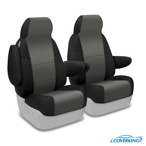 Coverking Neoprene Front Custom Car Seat Cover For Ford 05 07 F 250 Super Duty
