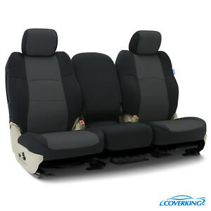 Coverking Neosupreme Front Custom Car Seat Cover For Ford 2002 F 350 Super Duty