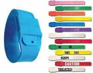 Boc Multi Loc Plastic Leg Bands Numbered 1 25 White Dairy Cow Cattle Re use Id