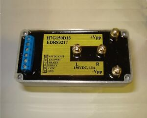 High Speed H bridge Driver 150vdc 13a vcc vcs 5v 12v 24v I o Iso For Pwm App
