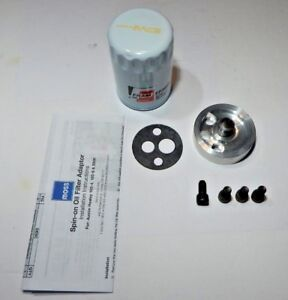 New Spin On Oil Filter Adapter W filter Austin Healey 100 6 And 3000 1956 1968