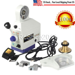 X Axis Power Feed Milling Table Fits Vertical Milling Machine Adjustable Speed