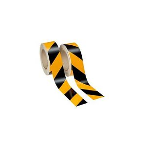 Tape Scotchlite Yellow black Retro reflective 2 Rolls Left And Right