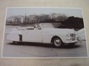 1946 Lincoln Continental Convertible 11 X 17 Photo Picture