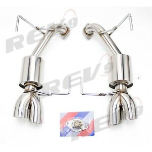 Rev9 Cb 1120 Flowmaxx Exhaust Kit Sports Muffler 2 5 For 2011 14 Wrx Sti Sedan